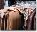 Clothing and fabric goods vendors