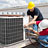 Installation and service of heat and air conditioning