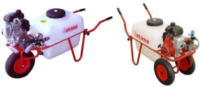 Wheelbarrow sprayer