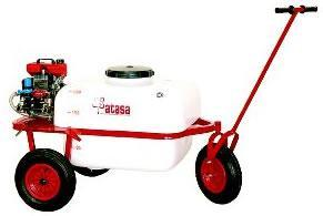 3 Wheel sprayer, manual trailer