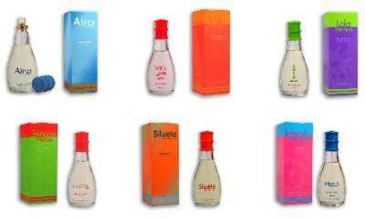 Perfumes. New Line series for woman