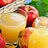 Cremogenated and concentrated fruit and vegetable products
