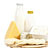 Organic dairy byproducts (cheese, yogurt)