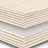 Plywood strips, parts and sheets